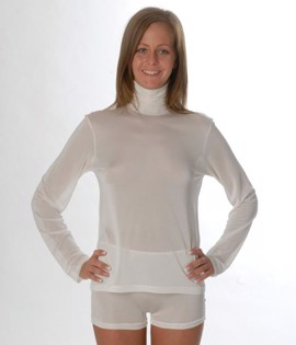 DermaSilk Turtleneck Teenage/Dame